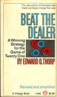 Beat the Dealer book by Edward Thorp